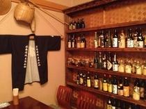 焼酎コレクション 様々な好みのお客様にご対応出来るよう準備しております。