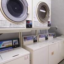 *コインランドリー/連泊にも便利なコインランドリー完備!洗剤の販売もございます。