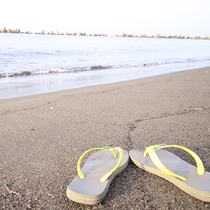 *平塚海岸/夏は海水浴客で賑わうビーチ。レジャー拠点としてもご利用ください!