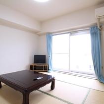 *客室一例/和室・または洋室、お部屋の広さは人数によりおまかせとなります。