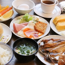 *朝食バイキング一例/和・洋の豊富なメニューが大人気!地元の人も通う朝食バイキング。