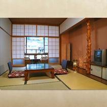 和室(7.5畳)〜杖立川を望む縁側つきの広めのお部屋〜