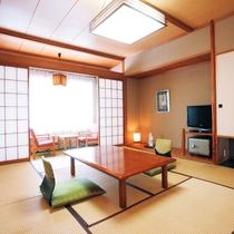 客室例(10畳間和室)