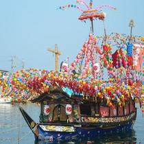 *【貴船祭り】毎年夏に行われる日本三大船祭の一つ、貴船祭り。