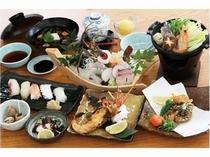 道後 魚武 会席料理
