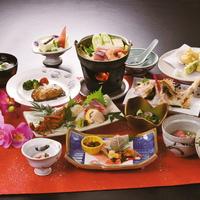 【厳選素材を堪能】料理長が選び抜いた旬の食材を使ったお料理をご提供!◆料理長おまかせ会席プラン◆