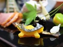 懐石料理の一品「八寸」