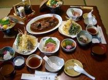富士自慢のお料理