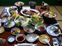 富士自慢のあわび料理