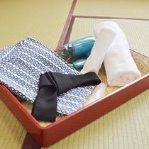 【客室一例】タオル、浴衣、ドライヤー
