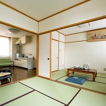 【客室一例】和室6+4.5畳