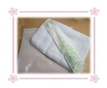 アメニティーの販売始めました。タオル・歯ブラシ・チャック付き袋で税込み¥150です。