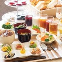 北海道 十勝を味わえる朝食バイキング♪朝6:30〜9:30 十勝帯広名物 豚丼もご用意しております☆