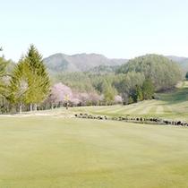 *【ゴルフコース】一年を通して、美しい景色とともにプレーをお楽しみ頂けます。