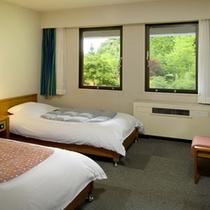 *【客室例/洋室Bツイン】カップルやご夫婦におすすめのお部屋。
