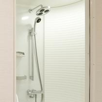 *【バスルーム】清潔感あふれるシャワールーム。(バスタブはございません)