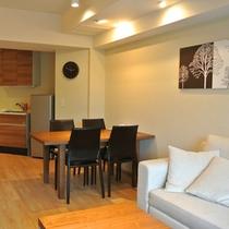 *【プレミアム/1LDKルーム】我が家のような快適空間で寛ぎのひと時をお楽しみください。