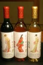 梁山泊の限定酒ワイン