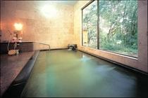大浴場内風呂 パンフレット掲載