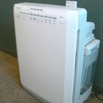 《乾燥や花粉の季節に大活躍!》  加湿機能付空気清浄機