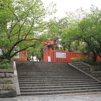 *【生國魂神社】初代天皇である神武天皇が生島大神、足島大神を祀られたのが創祀とされます。