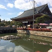 *【四天王寺】当館より徒歩15分→聖徳太子建立七大寺の一つとされています