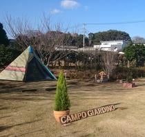 オートキャンプサイト使用例