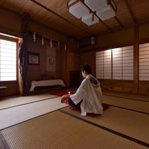 *瞑想室/内なる自分に耳を傾けて。