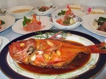 伊豆の名産 金目鯛姿煮付和洋折衷