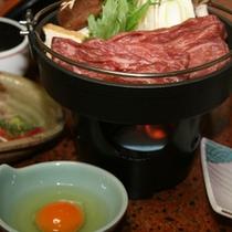 *【夕食】牛肉がお好きな方におすすめ贅沢お鍋の定番「すき焼き」
