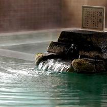 *【大滝の湯】男性用の本館大浴場です。源泉100%掛け流し。