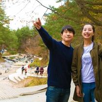 草津の観光名所『西の河原公園』