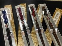 伝統工芸品「桜井漆器」の箸