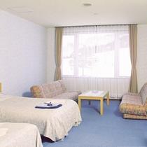 *【客室一例】気楽にのんびり♪洋室タイプでお寛ぎ下さい。