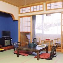*【客室一例】畳の感触が気持ちいい♪和室もございます。