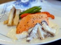 オーベルジュお魚料理