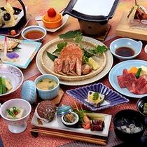*料理一例/新鮮な食材を活かしたお料理を、お部屋にてごゆっくりと。