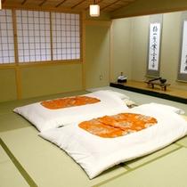 ≪和室一例≫ゆったりお寛ぎいただける和室をご用意致します。