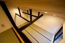 天井から見た和室