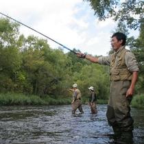 渓流釣りもお楽しみいただけます。