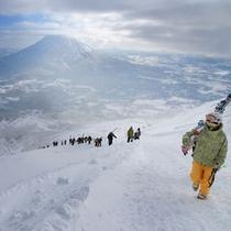 冬・スキー&羊蹄山