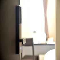 ■客室には安心のセキュリティーロック