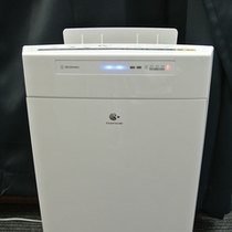 Panasonic加湿空気清浄機。『ナノイー』が室内を快適に致します。