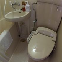 トイレにはウォシュレットを完備しております。