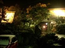 合掌苑の初雪(25年11月29日撮影)