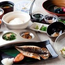 心と身体に優しい和食のご朝食です。