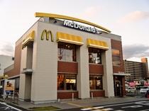 ≪マクドナルド202前原店≫24時間営業 歩いて3分程です。