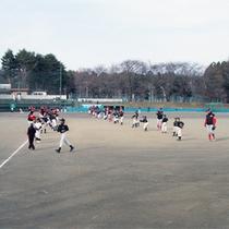 *大芝高原内施設《運動場》/野球場の他に総合運動場もございます。
