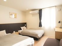 ツインルーム客室画像 120cmサイズベッド×2台