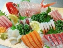 旬魚盛り一例(2名様用)